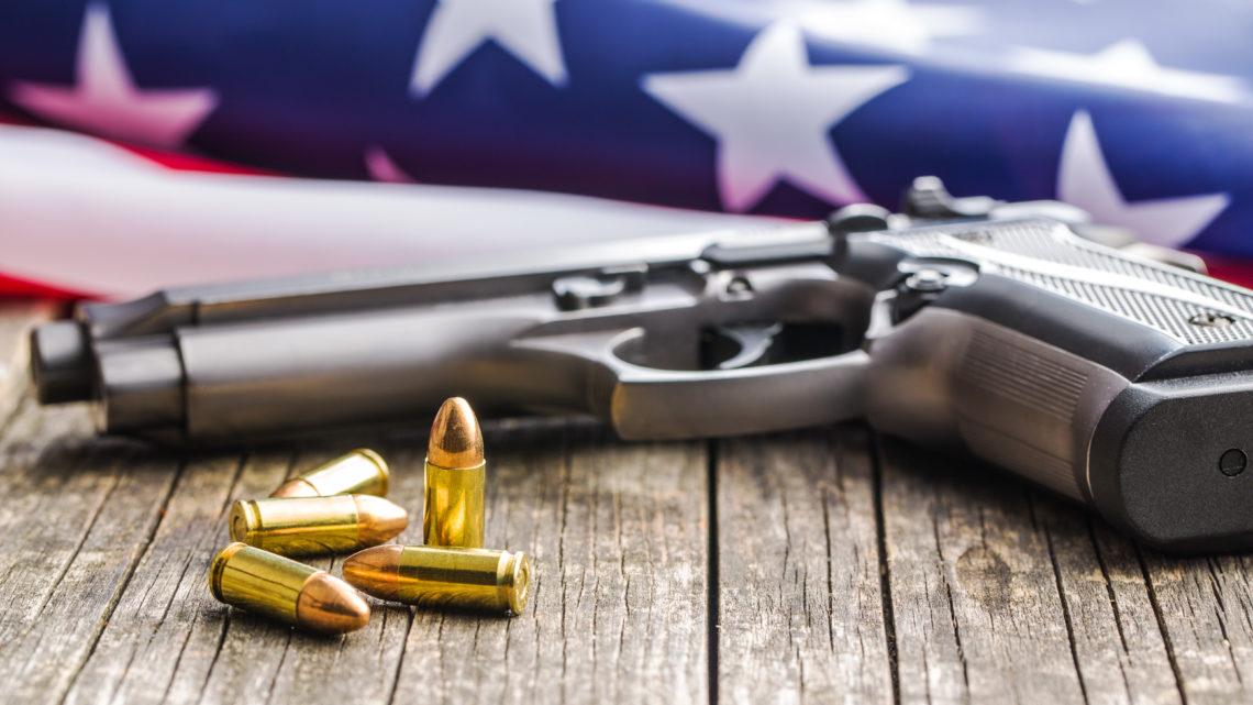 Discours en anglais contre les armes aux Etats-Unis